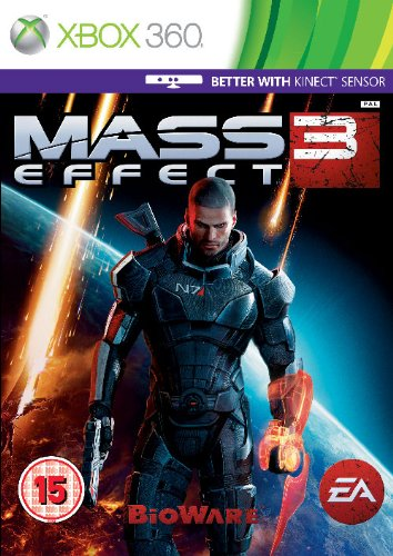 Mass Effect 3 III (Xbox 360 Games PAL) Kinect Compatible