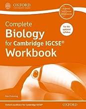 Complete Biology for Cambridge IGCSERG Workbook