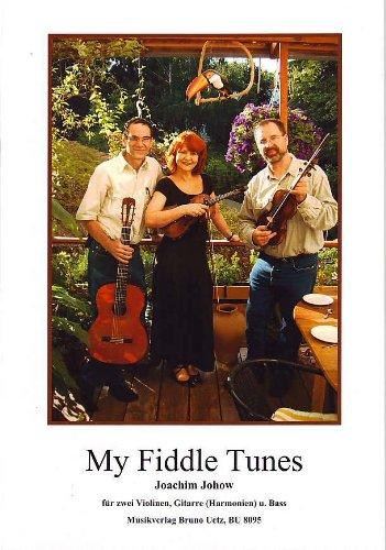 My Fiddle Tunes : für 2 Violinen, Gitarre und Kontrabass Spielpartitur und Kontrabassstimme