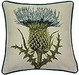 McAlister Textiles Tapestry. Besticktes Deko-Kissen mit Entenfederfüllung im geworbenen...