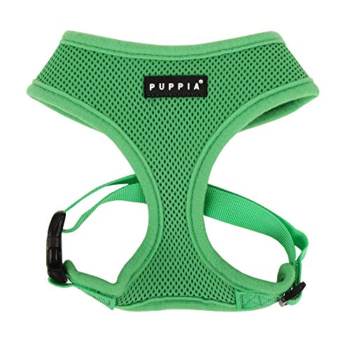Puppia Soft Dog Harness, Green, Large