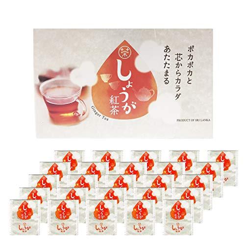 【選べる3種類】 生姜紅茶 しょうが紅茶 生姜 しょうが 紅茶 ジンジャーティー ティーバッグ 生姜湯 生姜パウダー ショウガオール 送料無料 ダイエット 冷え性 免疫力 新陳代謝 無添加 個包装 (25パック)