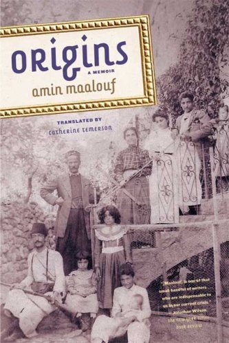 Origins: A Memoir by Amin Maalouf (2009-06-09)