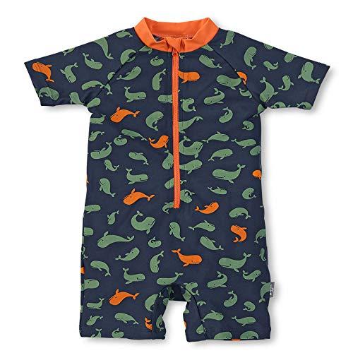 Sterntaler Jungen Schwimmanzug, UV-Schutz 50+, Alter: 3-4 Jahre, Größe: 98/104, Farbe: Marine