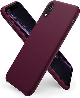 ORNARTO Liquid Silicone Case for iPhone XR, Slim Liquid Silicone Soft Gel Rubber Case Cover for iPhone XR(2018) 6.1 inch-W...