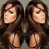 Kleberfreie Echthaar-Perücken aus jungfräulichem, brazilianischen Haar in 7A-Qualität mit...