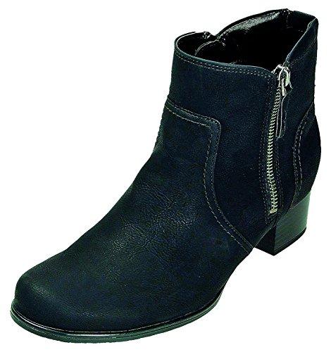 Jenny Stiefel D.Stiefelette in schwarz Weite H, Größe 3.0,