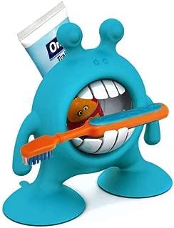 Prince Lionheart eyeSMILE Toothbrush & Toothpaste Holder, Berry Blue