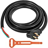 Mophorn 15Ft 50 Amp Generator Extension Cord 4 Wire 6 Gauge STW 6/3+8/1 Generator Cord 125V 250V UL Listed Generator Power Cord N14-50P & SS2-50R Portable Handle (15Ft 50 Amp)