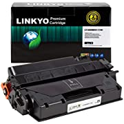 LINKYO Compatible Toner Cartridge Replacement for Canon 119 II 3480B001AA (Black, High Yield)