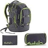 Satch Pack by Ergobag Phantom 3er Set Schulrucksack + Schlamperbox + Geldbeutel