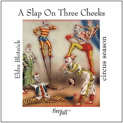 A Slap on Three Cheeks audiobook cover art