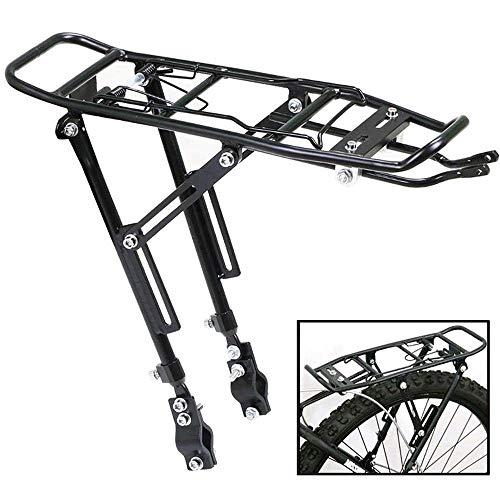 Best Deals! MGIZLJJ Solid Bearings Universal Adjustable Bicycle Luggage Cargo Rack