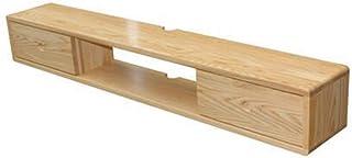 Lwieui Mesas para TV Mueble de TV de Madera Maciza Montado en Pared Nordic Dormitorio Minimalista Sala de Estar Conjunto d...