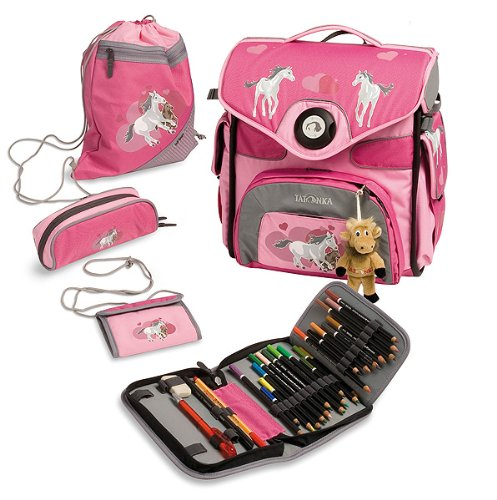 Tatonka Schulranzen Paket pink heart, 36 x 32 x 18cm