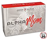 AlphaMom Berry Brain Booster Daily Drink Mix | Fast-Acting Nootropic Supplement for Long-Lasting Energy + Focus & Improved Memory + Mood | 20 On The Go Packets | Ashwagandha + B Complex + No Crash