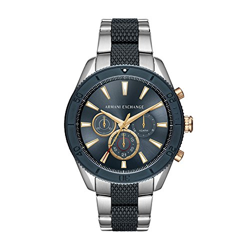 Armani Exchange Men's Stainless Steel Analog-Quartz Watch...