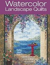 Watercolor Landscape Quilts: Quick No-Fuss Fold & Sew Technique