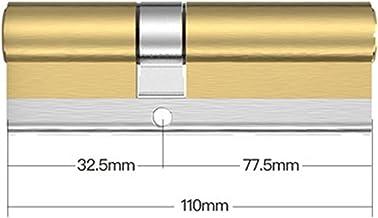 Deur vatslot 10 Sleutels Lock Vervanging C Grade Security Toegangsdeurslot Cilinderknop Cilinder Uitdrijving Dubbele Cilin...
