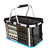 IBLUELOVER Soft Sided Pet Carrier Bag,Airline Approved Dog Cat Travel Bag Collapsible Puppy Kennel Cage Portable Mesh Basket for Small Medium Dog Cat Kitten Guinea Pig within 15lbs