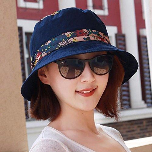 XINQING-MZ De nieuwe cap lente en zomer pauze losse doek cap Fashion Cap wastafel cap, vizier zonnehoed