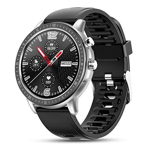 WEINANA Reloj Inteligente Pulsera Full Touch Frecuencia Cardíaca Oxígeno En Sangre Reloj Deportivo Cámara Remota Reloj Inteligente Multifuncional(Color:Segundo)