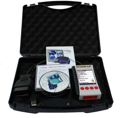 Scandevil Handheld-OBD-2-Diagnosescanner mit Farbdisplay