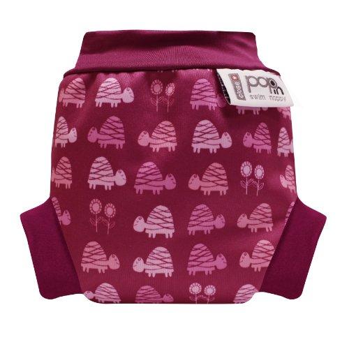 Close Pop-in Schwimmwindeln Pink Turtle - Small (Neugeborene, ab 3 Kg) - Design 2013