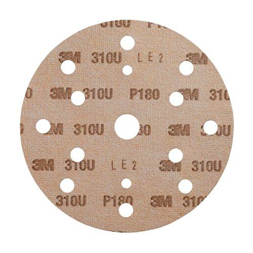 3M Hookit Kletthaftende Scheibe 310U, 150 mm, P180, LD861A, 100 Stück / Karton