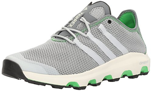 adidas outdoor Men's Terrex Climacool Voyager Water Shoe, Grey/Black/White, 12 M US