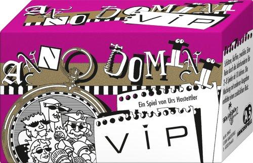 ABACUSSPIELE 09042 - Anno Domini - VIP, Quizspiel, Schätzspiel, Kartenspiel