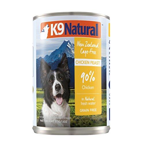 K9 Natural BPA-Free & Gelatin-Free Canned Dog Food, Chicken 13oz 12 Pack
