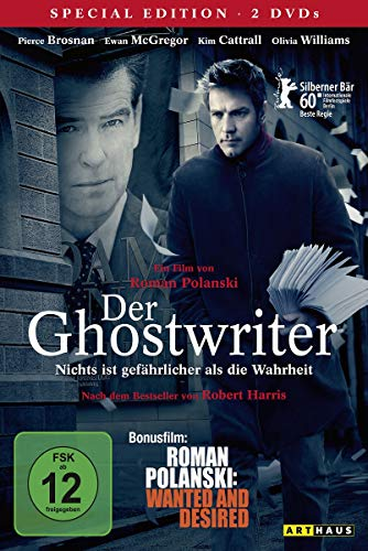 "Der Ghostwriter / 2 DVD Special Edition (inkl. Bonusfilm ""Roman Polanski: Wanted and Desired"")"