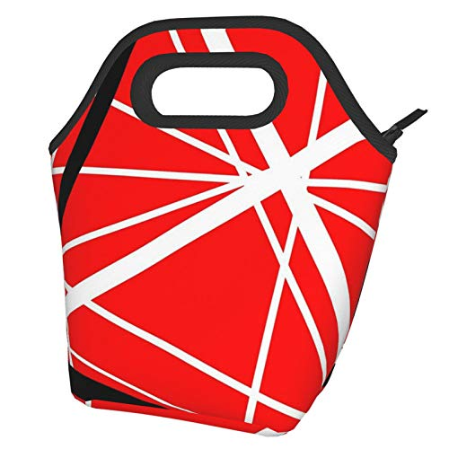 Van Halen Lunch Bag Tote Bag Lnsulated Lunch Cooler Bag for Women/Men Lunch Box Tote Bag Snacks Organizer Lunch Holder for Women Men Office Work School Beach Party Boating Fishing Picnione Size