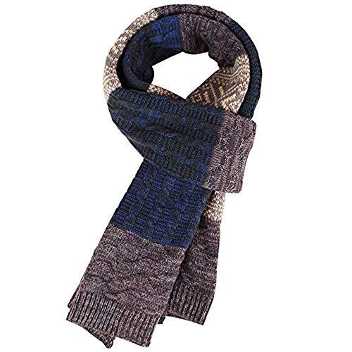 HSXQQL Heren Winter Nek Warm Sjaal Breien Garen Sjaals Vogue Multi kleuren Sjaal voor Mannen Vrouwen