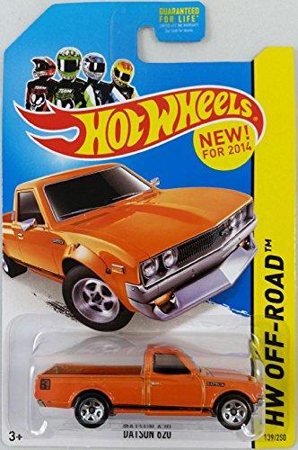 Orange Hot Wheels 2014 HW Off-Road Datsun 620 139//250