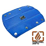 Subaru Legacy GT WRX STI Forester Turbo Uppipe Blanket for OEM and aftermarket up pipes Heat Shield Turbocharger 2300 degree blanket - Blue - Thermal Zero - Made in USA