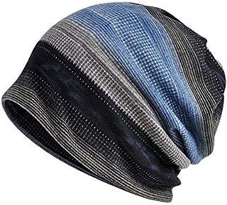 EsColourful النساء الرجال وشاح، القطن الكيميائي قبعة خفيفة الوزن ترهل قبعة