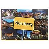 Ciffre Fotomagnet Postkarte Foto Magnet Kühlschrankmagnet Souvenir Bauer - Nürnberg NP10