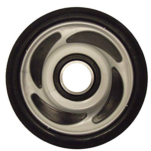 Polaris New OE Snowmobile Silver Scrolled Idler/Bogie Wheel 5.35