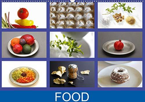 Food (Wandkalender 2021 DIN A2 quer)