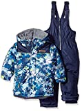 Wippette Baby Boys and Toddler Insulated Snowsuit, Camouflage Navy, 3T