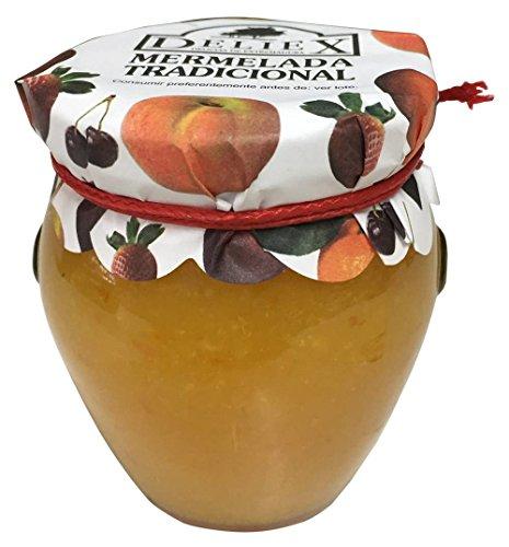 Tarro de cristal con mermelada de Naranja y Miel de Romero de 250gr detalles para bodas, comuniones y bautizos