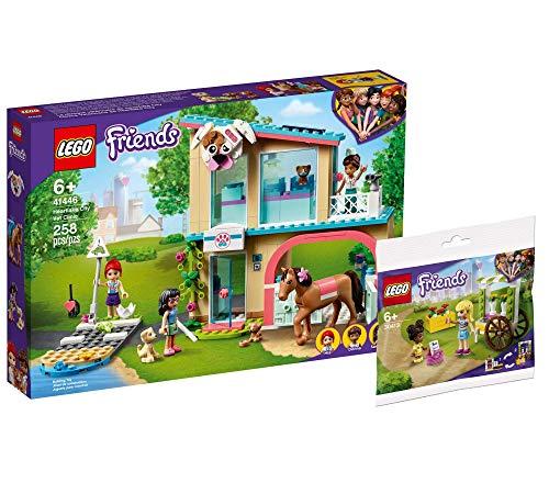 Collectix Lego Set Friends Heartlake City 41446 - Juego de mesa y carrito para flores (bolsa de polietileno)