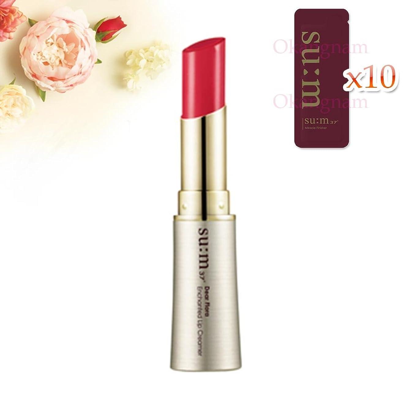 イサカくスキー[su:m37/スム37°]SUM37  Dear Flora Enchanted Lip Creamer 02Dahlia Coral/DF02 sum37 スム37 ディアフローラ エンチャンテッド リップクリーマー 2号 Dahlia Coral +[Sample Gift](海外直送品)