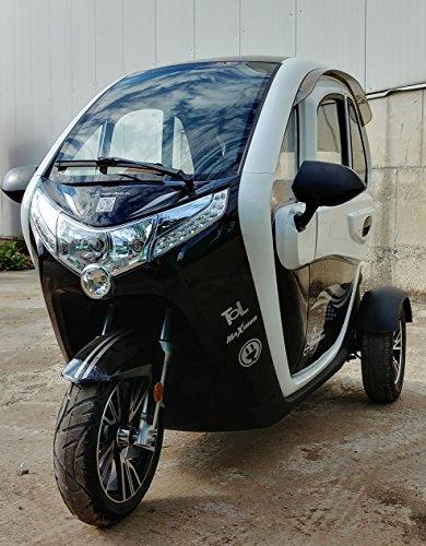 Scooter Elektroauto Kabinenroller E-Mobil mit Dach Bild 6*