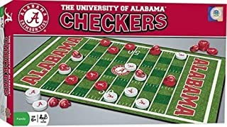 MasterPieces NCAA Alabama Crimson Tide Checkers Board Game