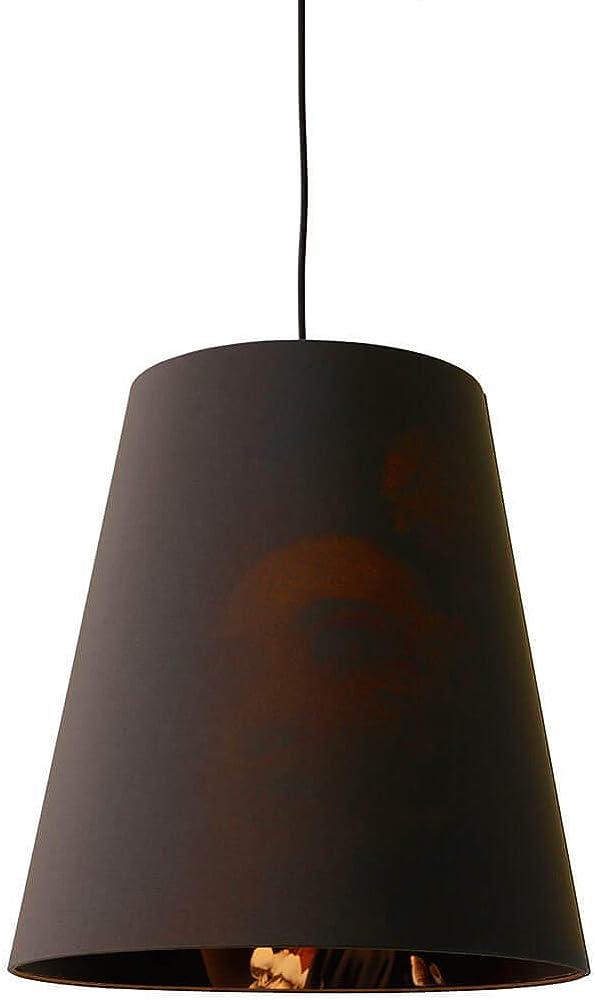 Karman cupido, lampada a sospensione con stampa interna al paralume Ø40 cm,in tessuto SE194DD INT