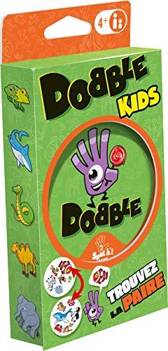 Dobble Kids (Edition 2021) - Asmodee - Jeu de société - Jeu de cartes - Jeu d'observation