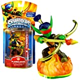 Skylanders Year 2011 Video Game Series Spyro's Adventure 2-1/2 Inch Tall Character Game Figure - FLAMESLINGER (Works with The Spyro's Adventure Video Game, Video Game Sold Separately)